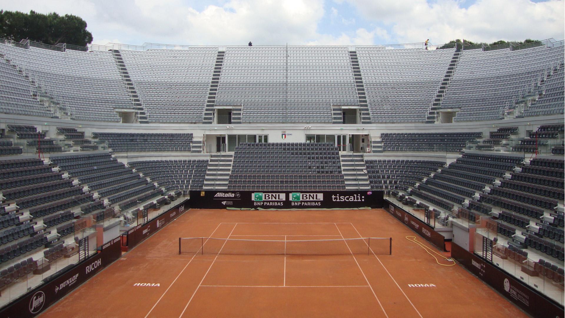 stadio centrale del tennis roma metal engineering carpenteria metallica pesante e leggera. Black Bedroom Furniture Sets. Home Design Ideas